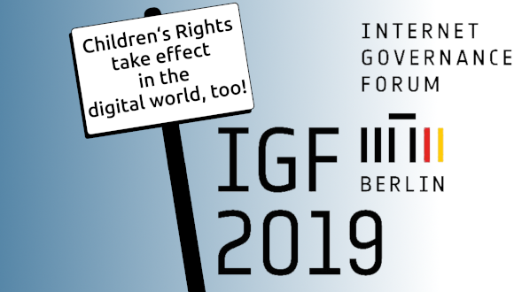 Children's Rights at the Internet Governance Forum 2019